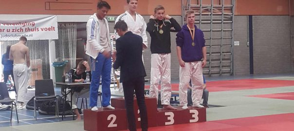 Sander en Christiaan beide in de prijzen
